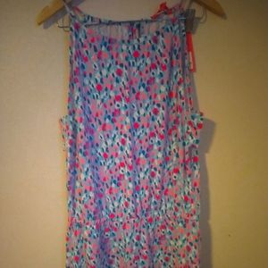 Lilly Pulitzer Sz Large Romper NWT